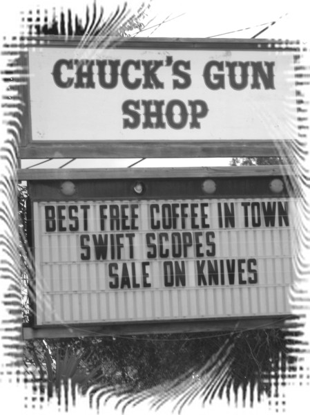 Guns Anyone