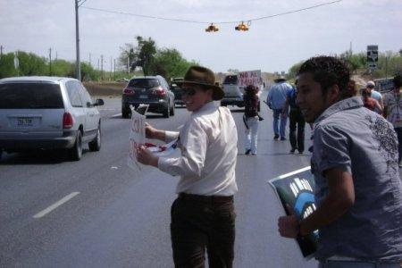 No Border Wall Walk- Day2