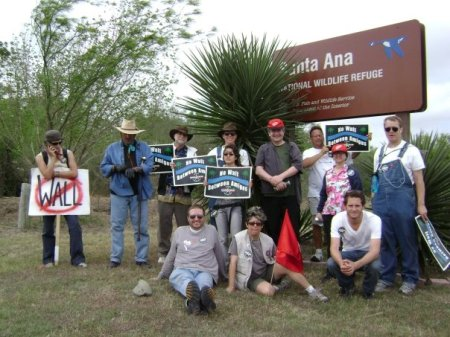 No Border Wall Walk- Day 6 at Santa Anna Refuge
