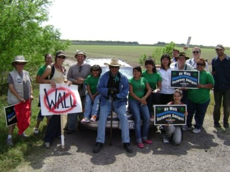 No Border Wall Walk- Day 6 with Father Albert's Angels from Sacred Heart Church in Las Rusias