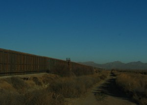 Border Wall on Rio Bosque