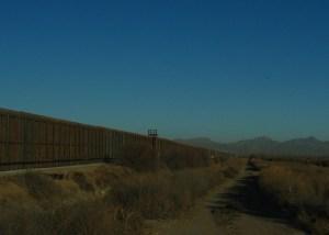 Border Wall on Rio Bosque